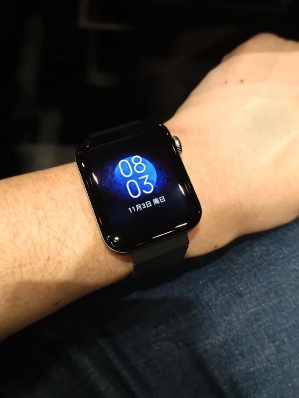 小米手表实际佩戴效果如何?看这张图你就明白了