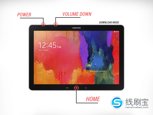 三星Galaxy Tab Pro欧洲版SM-T525