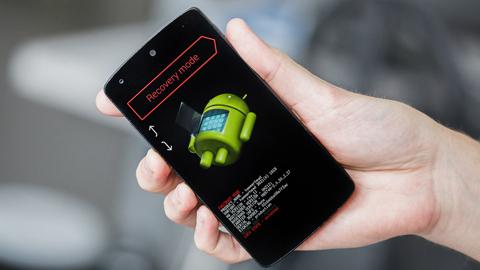 手机进入recovery模式怎么刷机