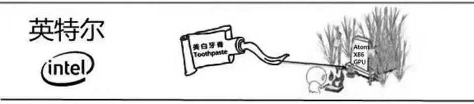 一组漫画详解八大手机芯片厂商,太有才了!